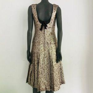 Carolina Herrera Dresses - Carolina Herrera Lamé Dress
